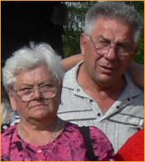Krystyna Kokot i szwagier <b>Stefan Kokot</b> - krawczyki-razem